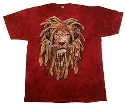 The Mountain Lion DJ Jahman David Penfound T Shirt, Red, 2X, New with De... - $11.24