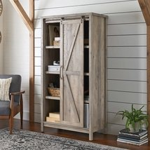 Better Homes and Gardens Modern Farmhouse Storage Cabinet, Rustic Gray F... - $336.59