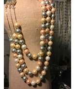 Shell Pearl Necklace & Earring set - $225.00