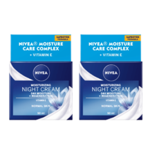 2 Nivea 24h Moisture Boost Night Cream 50 ml / 1.7 fl oz - $42.70