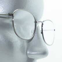 Reading Glasses Shiny Gray Polished Small Classic Simple Metal Frame +3.... - $18.00