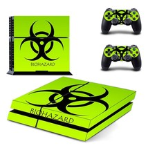 Console Skin Sticker Console + 2 Controller Protector Skin For PS4 PlayS... - $8.18