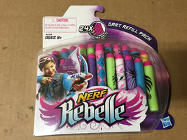 Nerf Rebelle Secrets & Spies Dart Refill 24-Pack for Blasters Hasbro - $11.57