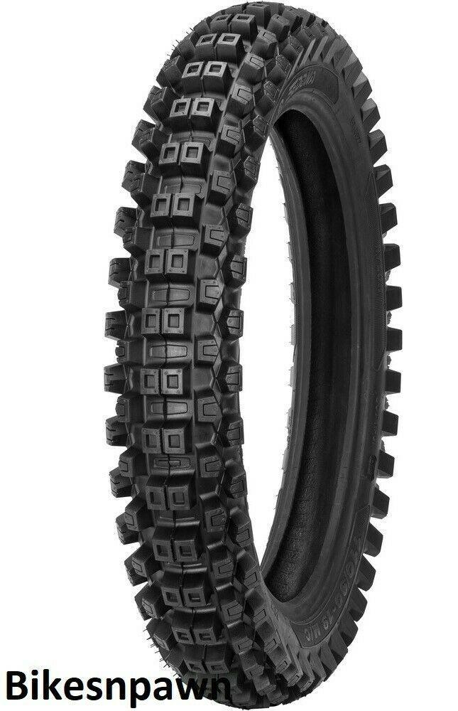 Shinko MX-208SR 120/90-18 Steel Belted Radial Rear Motorcycle Dirt Tire 65M