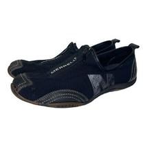 Merrell Womens Barrado Sport Slip On Zipper Sneakers Shoes Black Size 8.5 - $29.69