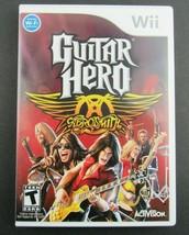 Guitar Hero: Aerosmith (Nintendo Wii, 2008) Case & Disc - $10.95