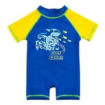 SANSI Kids Boys Swimsuit UPF 50+ UV Sun Protective One-Piece Rash Guard … - $15.09