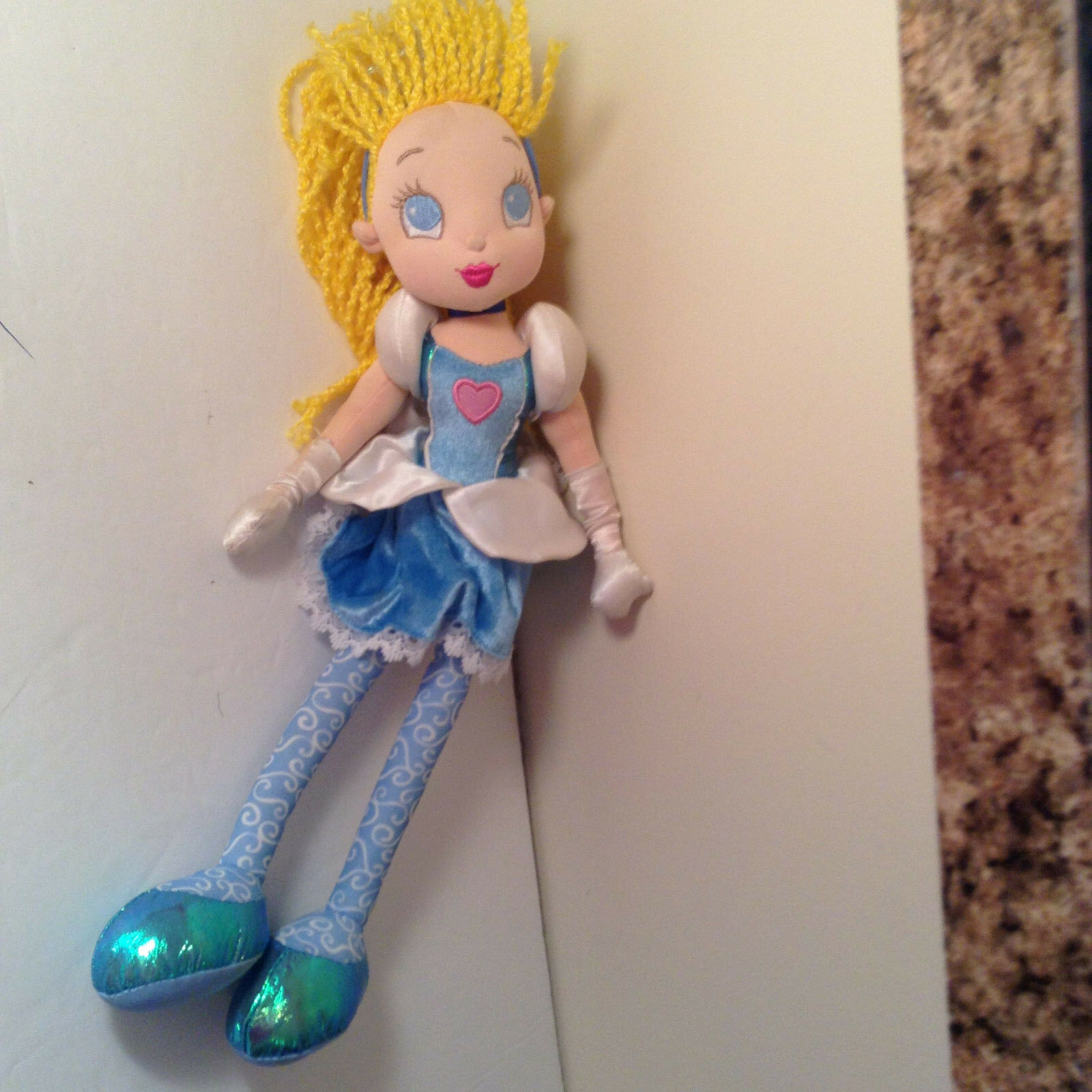 "Disney Soft Toy Plush Cinderella Cindarella 12"" Tall Stuffed Toy Doll"