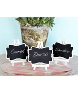 Framed Chalkboard Place Cards with Easel - Set of Three (4) - $21.31