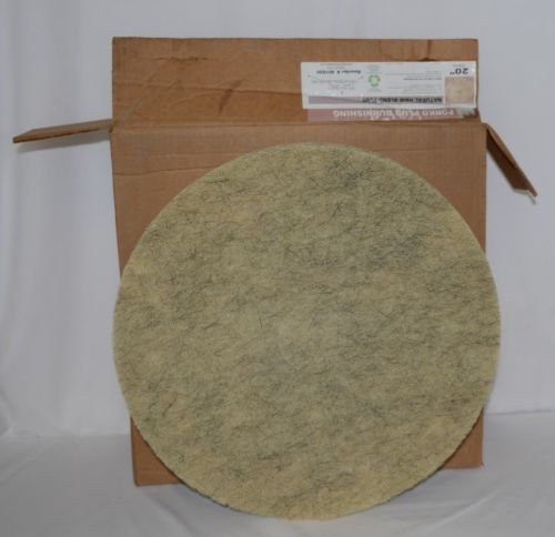 Tri Lateral Sales 401820 Porko Plus Natural Hair Burnishing Pads 20 Inch 5 Pack