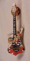 Seminoles Hard Rock Cafe and Casino Happy Birthday 2006 Guitar Queen Pin - $6.85
