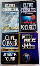 Clive Cussler books Dirk Pitt, Sam & Remi Fargo, Kurt Austin adventures ... - $11.00