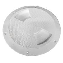 Sea-Dog Quarter-Turn Textured Deck Plate w/Internal Collar - White - 5 - $22.47
