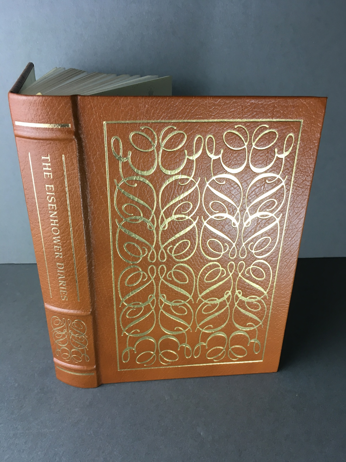 Primary image for The Eisenhower Diaries, R Ferrell ed.1989 Easton Press Library of The Presidents