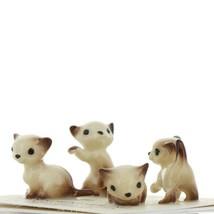 Hagen Renaker Miniature Cat Siamese Tiny Kittens Boxing Walking Sitting & Lying