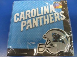 Carolina Panthers NFL Pro Football Sports Party Paper Luncheon Napkins - $8.17