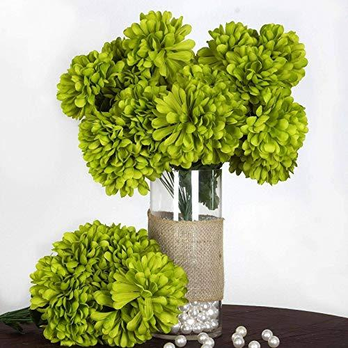 Primary image for end Sage Green - 56 Large Chrysanthemum Mums Balls Artificial WeddingEvent Flowe