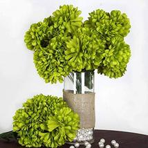 end Sage Green - 56 Large Chrysanthemum Mums Balls Artificial WeddingEve... - $59.40
