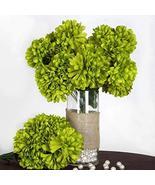 end Sage Green - 56 Large Chrysanthemum Mums Balls Artificial WeddingEve... - $59.40