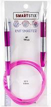Knitter's Pride SmartStix Fixed Circular Knitting Needles - 40 Inch, US ... - $13.00