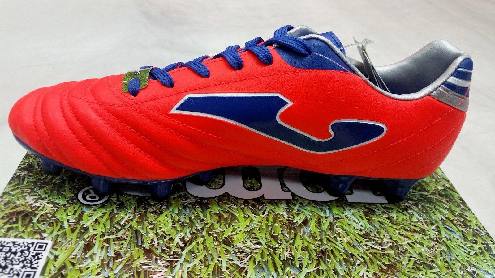 Joma Dribling 602 white-bleu-orange Turf Football Chaussures