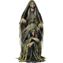Swamp Hag Rising Animated Halloween Prop Witch Haunted House Yard Scary ... - €141,11 EUR