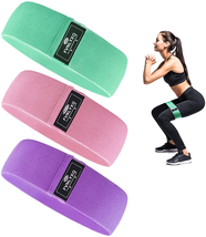 FVNLYXQ Resistance Bands,Exercise Bands for Legs and Butt with 3 Resista... - $24.38