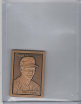 1990 Topps Gallery Of Champions Bronze Greg Olson Orioles - $2.00