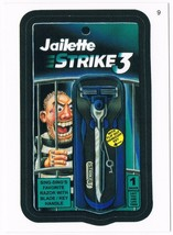 2005 Topps Wacky Packages Series 2 Jailette Strike 3 Trading Card 9 ANS2 - $5.99