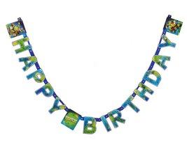 Teenage Mutant Ninja Turtles Birthday Party Banner, Party Supplies - $9.79