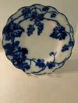 "Vintage Warwick Johnson Bros England Flow Blue 9"" Dinner Plate - $34.60"