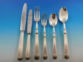 Acropole by Cesa 1882 Italy 800 Silver Flatware Set for 18 Service 116 pc Dinner - $17,500.00