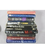 Lot Of 10 Sue Grafton Paperback Hardcover A B C D E G M O R S Preowned - $19.59