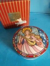 Mikasa Herald Angel  Porcelain Trinket Box Christmas Holiday Dan Scannel... - $23.36