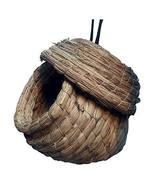 DRAGON SONIC Outdoor Bird Nest Braided Birdcage Grass Nest Bird Breeding... - $23.49