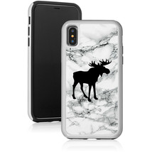 Marble Shockproof Hard Case Cover Protector For Apple iPhone Moose - $14.99