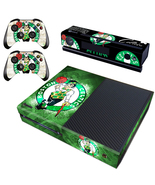Xbox One Console Skin NBA Boston Celtics Vinyl Skin Decals Cover Sticker... - $12.00