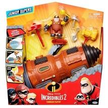 Disney Pixar Incredibles 2 Junior Supers Underminer Vehicle - $60.99
