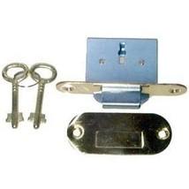 LRT-6 Brass Full Mortise Round ROLL TOP Desk Lock & Skeleton Keys + Free... - $48.43