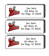 Boston Lobsters Labels - $5.00