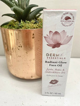 Derma E Radiant Glow Face Oil 2 oz-FULL SZ--BNIB-Best By 05/2022-SunKiss... - $17.42