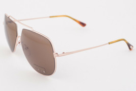 Tom Ford Chase Gold / Brown Sunglasses TF586 28E - $224.42