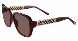 Chopard Women Sunglasses SCH184S 0954 58 Red / Brown Shaded 58/16/13 - $188.09