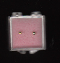 Baby's First Gold Ball Stud Earrings,14KGold-Filled,New - $11.99
