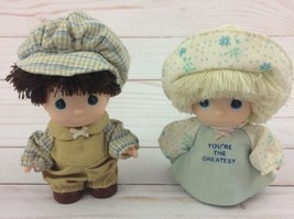 Vintage Precious Moments Miniature Plastic Dolls - You're the Greatest - $9.50