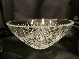 """Waterford Crystal Glass Gallagher 10"""" Centerpiece Serving Bowl Made in I... - $197.99"""