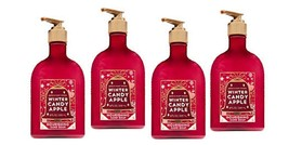 Lot of 4 Bath & Body Works Winter Candy Apple Nourishing Hand Soap 8 fl oz - $25.99