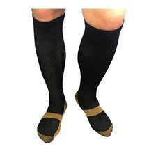 Monogram Inc Copper Combo Athletic Compression Socks For Blood Circulati... - $6.95