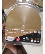 Diamond Products Core Cut 12377 8-Inch by 0.060 Standard Gold Wet Tile B... - $34.67