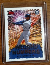 1999 Topps Record Numbers - Ken Griffey Jr #RN4 - Lot #3 - Fast Ship - $1.97